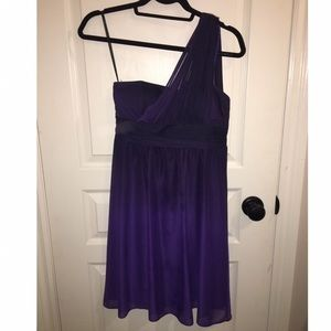 Sears Purple Ombré Dress